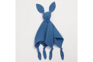 Doudou Lapin Blue