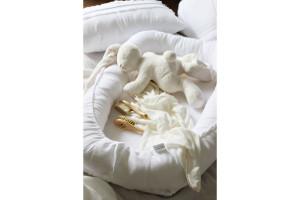 Olive Linen Bed Reducer