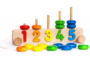 Wooden Number Stacker