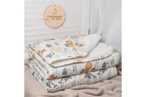 Mum & Me Cotton Blanket - Warm