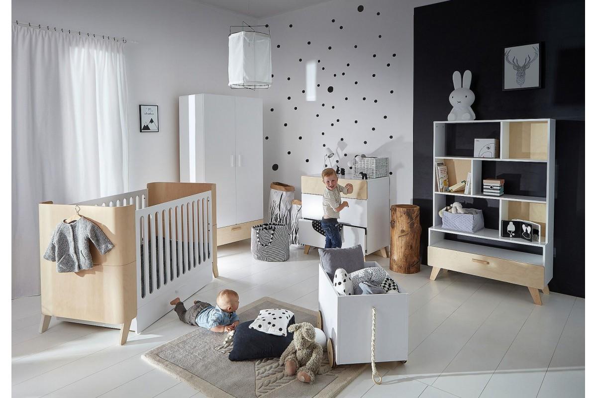 lit b b evolutif leo monlitcabane. Black Bedroom Furniture Sets. Home Design Ideas