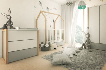 MIA Baby Bed and Dresser