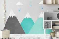 Montañas menta