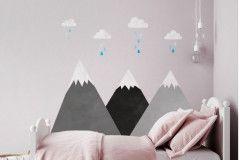 Montañas grises