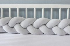 Light Grey Bed Bu...