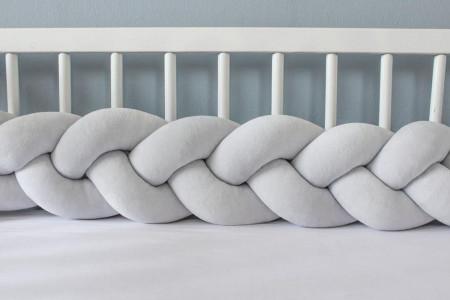 Light Grey Bed Bumper