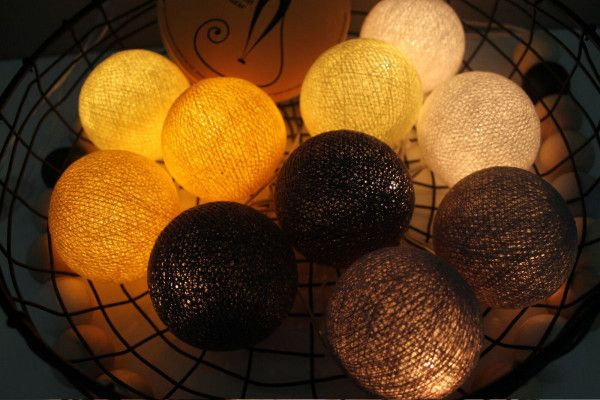 Guirlande Lumineuse Smokey Yellow