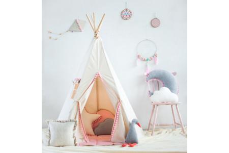 Pink Pompons