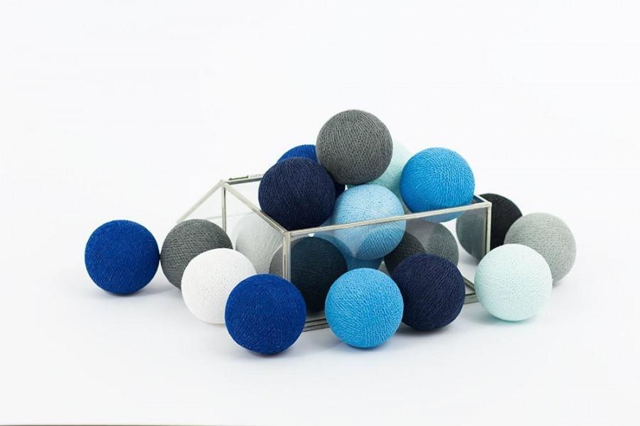 Guirlande Lumineuse Blackness Blue
