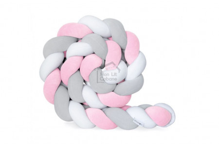 Braided Bed Bumper - 3 ropes