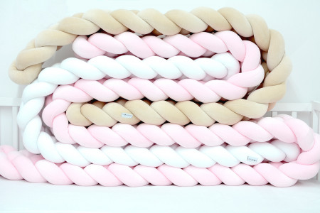 Braided Bed Bumpers